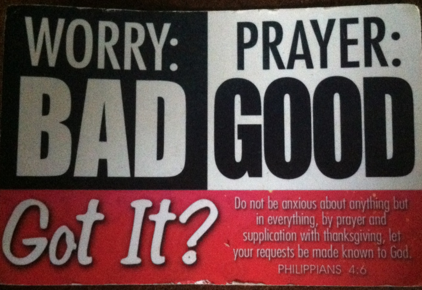 dont-worry-pray-instead