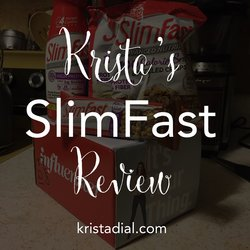 SlimFast product review from my latest Influenster VoxBox