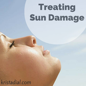 Two effective ways to treat sun damage